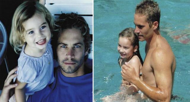 La hija de Paul Walker ya tiene 18 años y sorprende con sus fotos