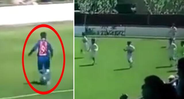 Un juvenil del Barcelona 'anotó' un polémico gol contra el Real Madrid y así reaccionaron los culé