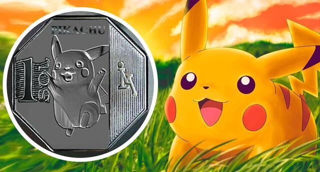 Facebook: La colección 'Riquezas Peruanas' publica moneda de Pikachu