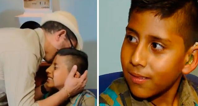 Niño de 8 años con sordera profunda tiene esta reacción ante noticia de especialistas