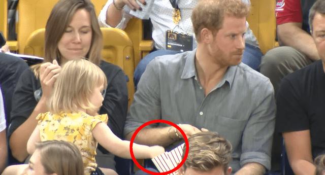 El príncipe Harry volvió a demostrar por qué es uno de los miembros de la realeza más queridos.
