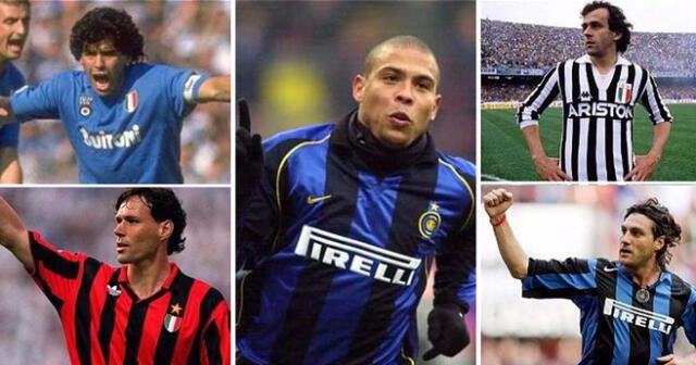 Neymar quedaría relegado en esta lista de super estrellas del fútbol mundial.