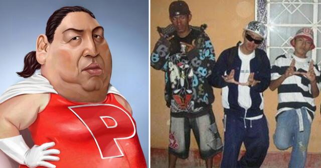 En Perú muchos dicen 'pe', mientras que en Chile dicen 'po'.