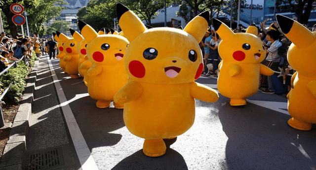 Mira al desconocido animal que se parece al entrañable Pikachu.