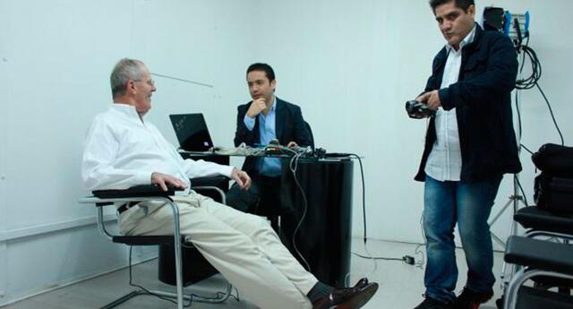 Pedro Pablo Kuczynski se sometió al polígrafo en el 2012