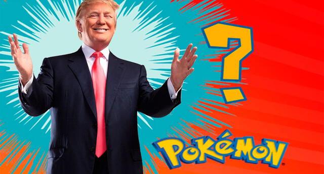 Donald Trump fue comparado con un pokémon y los memes saltaron de inmediato