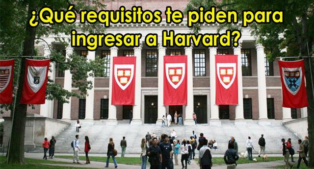 Si tu sueño es estudiar en Harvard, no pierdas la oportunidad