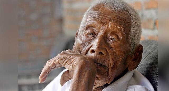 Podría ser el hombre más viejo del mundo y solo desea morir