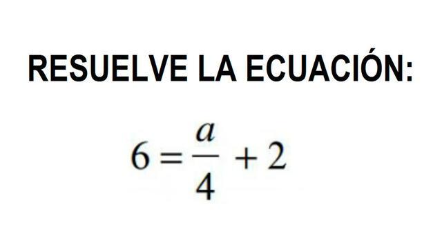Las operaciones de álgebra básica que no podrás resolver