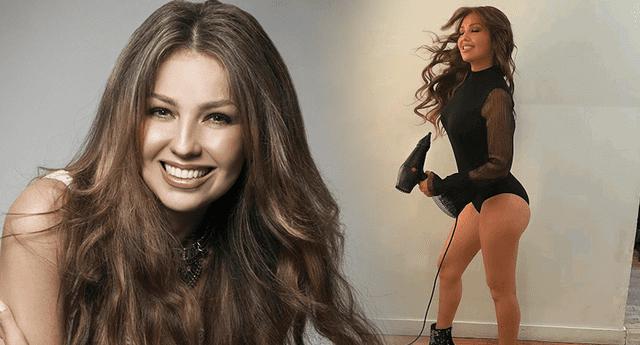 La cantante dejó impactados a sus seguidores al mostrar su poderosa rutina de ejercicios.