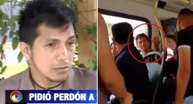 El peruano explicó las razones de su reacción.