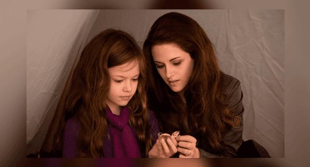 Kristen Stewart y Mackenzie Foy se reencontraon despues de seis años