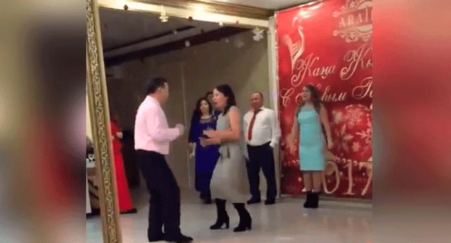 La pareja del bailarín se llevó la peor parte