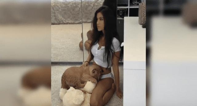 Sexy modelo recibió la peor venganza.
