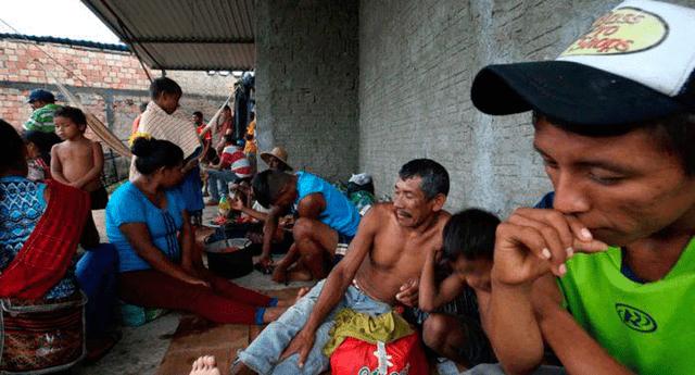 Alrededor de 50 venezolanos abandonaron el lugar luego de los actos de violencia
