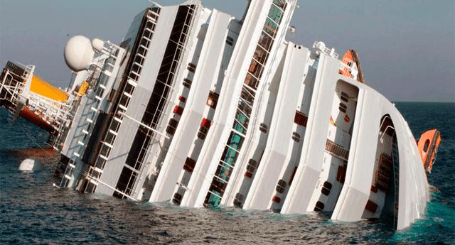 El viernes 13 de enero de 2012, el crucero Costa Concordia se quedó varado en la isla de Giglio, Italia