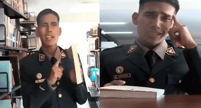 """La PNP celebró """"El Día del libro"""" con ingenioso video"""