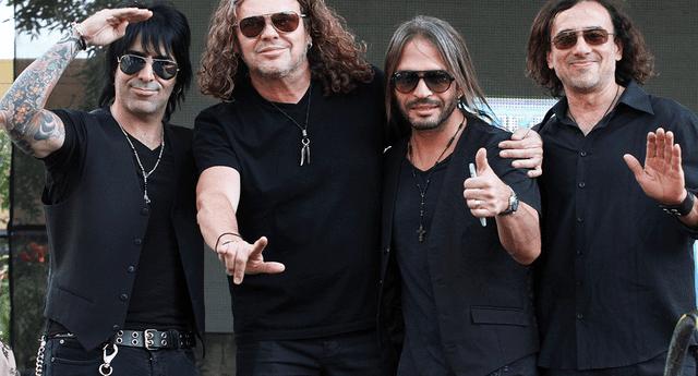 El vocalista de la banda llamó la atención de los televidentes y desencadenó una serie de críticas en las redes sociales