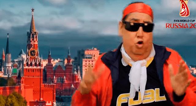 El popular personaje subió a su cuenta de YouTube el video de su nueva canción para Rusia 2018