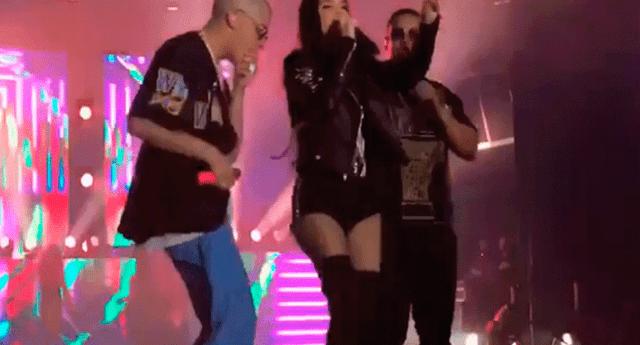Los seguidores de Natti Natasha criticaron a la cantante por justificar la actitud de Bad Bunny