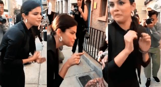 La reacción de la cantante se volvió viral en las redes