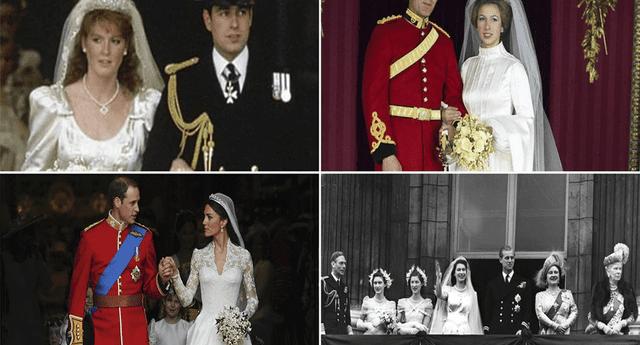 Estos son los suntuosos vestidos de 11 bodas reales.