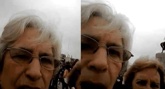 Las ancianas grabaron su propia anécdota al intentar tomarse un 'selfie', y han causado furor en las redes