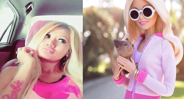 Catherine Lauren es una fanática de la Barbie, que se ha sometido a varias cirugías para ser igual a popular muñeca
