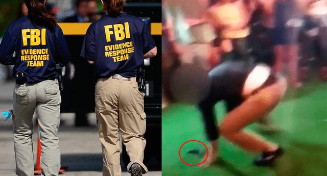 El agente hirió a un hombre.