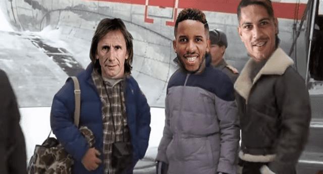Parodia de la Selección Peruana se convirtió en viral.