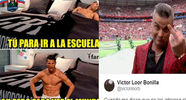 El inicio del Mundial Rusia 2018 desató una ola de divertidos memes