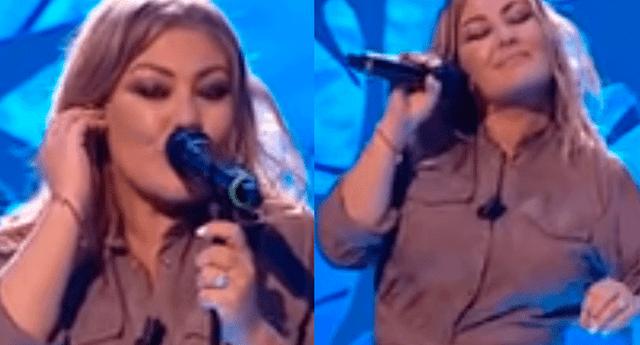 Amaia Montero volvió a desatar las críticas en las redes sociales al olvidarse letra de su canción