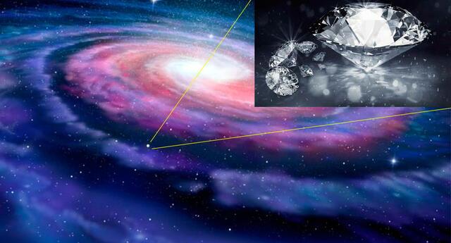 Se logró ver dentro de un disco de gas en otra galaxia.