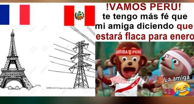 Así esperan los cibernautas el Perú vs. Francia.