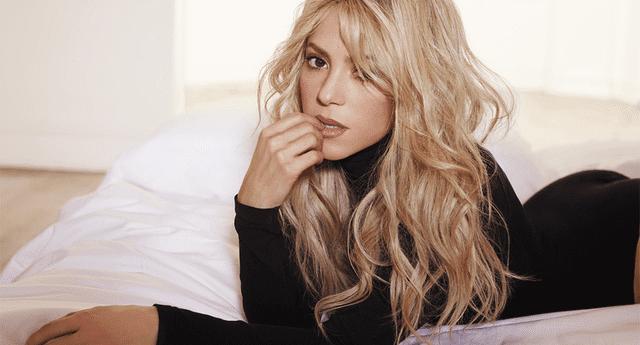 Filtran imágenes de Shakira de sus años mozos.