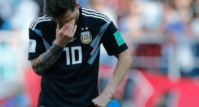 Fanático de Messi no soportó la derrota del equipo de su ídolo y se suicidó