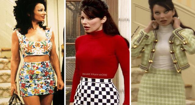 """Fran Descher, la actriz que reencarnó a """"The Nanny"""" reveló el secreto de su esbelta figura"""