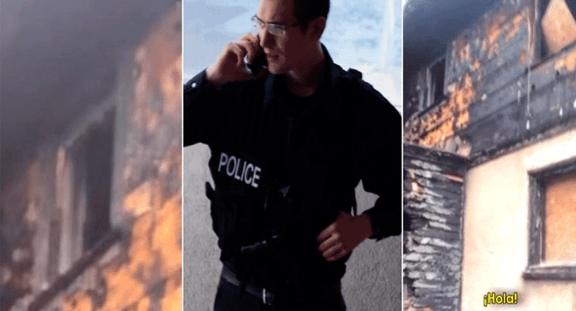 Policía se llevó el susto de su vida al registrar terrorífica imagen en una casa abandonada