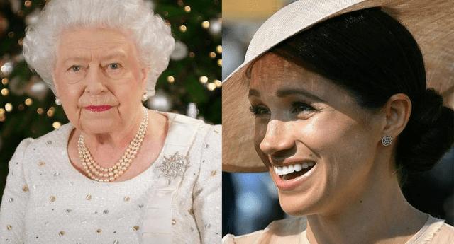 """Meghan Markle jamás imáginó el último """"capricho"""" de la reina Isabel II."""