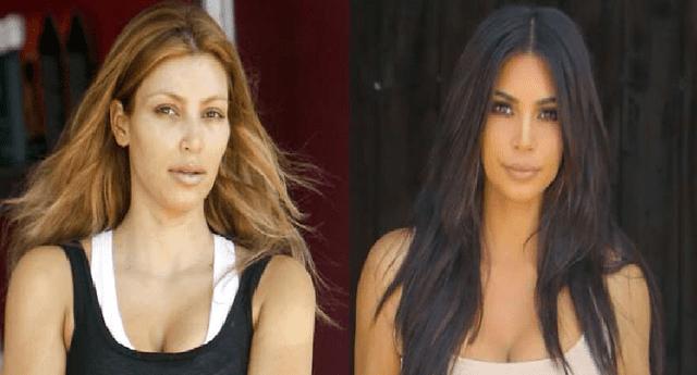 Así lucen las famosas hermanas sin una gota de maquillaje.