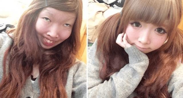 La transformación de mujeres asiáticas es increíble.