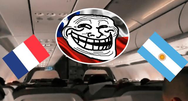 Los pasajeros tuvieron una singular reacción.