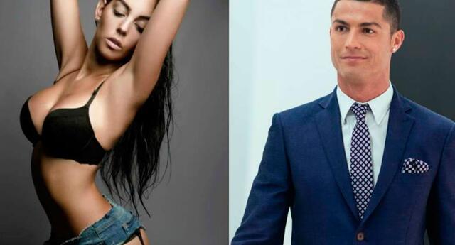 Cristiano Ronaldo se pierde de Rusia 2018, pero así lo consuela su novia.