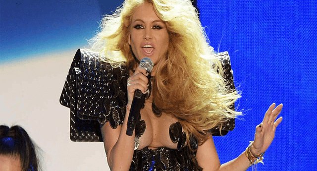 Paulina Rubio recibió una lluvia de críticas tras su presentación en el concierto Ídoles 2.0, en México