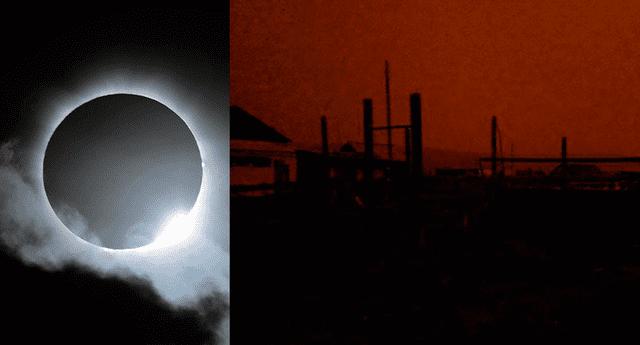 El sol se pagó repentinamente en pleno mediodía en dos localidades de Rusia