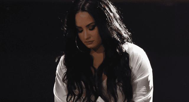 Demi Lovato y la canción más desgarradora de su carrera.