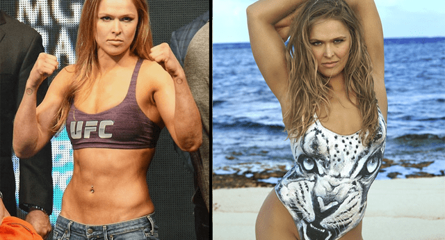 Ronda Rousey responde fuerte y claro.