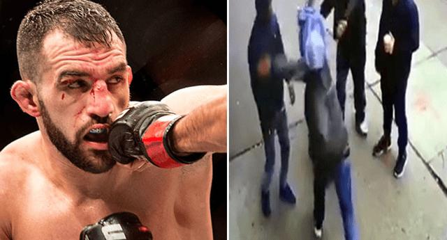 Futuro de luchador de la UFC se vio seriamente comprometida.
