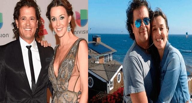 Carlos Vives renovó los votos matrimoniales con su esposa tras 10 años de casados.