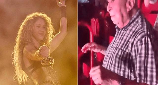 Shakira expresó la emoción que sintió al ver a un anciano bailando y disfrutando de su concierto
